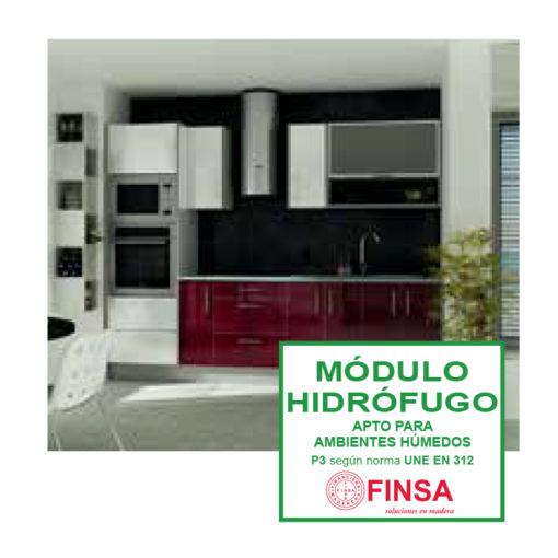 Nueva gama de módulos de cocina hidrófugos
