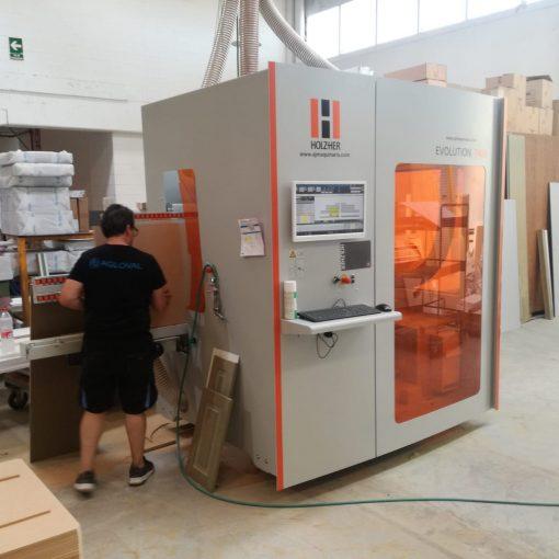 AGLOVAL incorpora un nuevo Centro de Mecanizado CNC